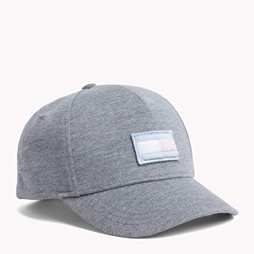 Imagen de tommy hilfiger big flag cap,  bebé niños, gris grey fleece 901 , small talla del fabricante s m