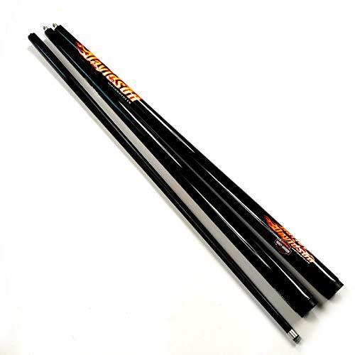 banxia 9,5 mm 1/2 Split Black Snooker Pool Queue China Carbon Pool Queue XM01 9,5 mm