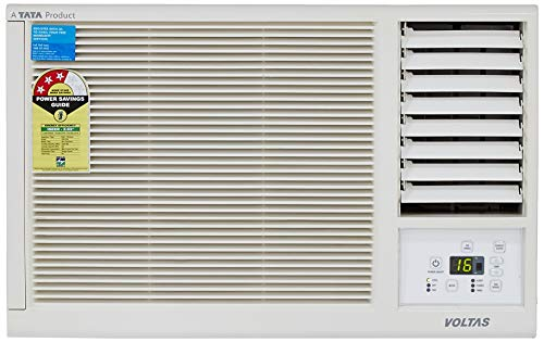 Voltas 1 Ton 3 Star Window AC (123 Lyi/123 LZF, White)