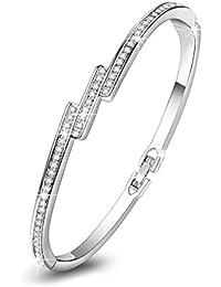 """Pauline & Morgen """"poussiere d'etoiles"""" Bracelet femme avec cristaux"""