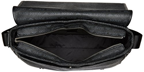 Armani Jeans Messenger-Bag Schwarz Schwarz (NERO 00020)