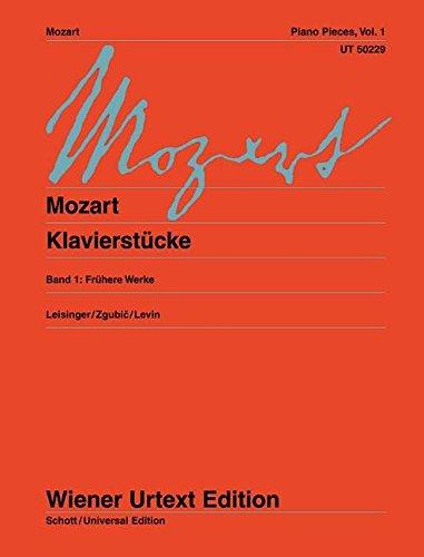 Klavierstücke: Frühere Werke. Band 1. Klavier. (Wiener Urtext Edition)