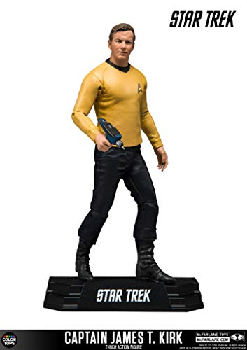 McFarlane Star Trek Tos Action Figure Captain James T. Kirk 18 cm Toys Figures