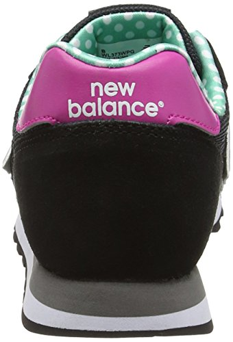 New Balance Wl373, Baskets Basses Femme Noir (Black)