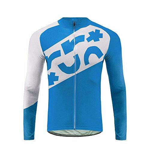 Uglyfrog Radsport Bekleidung Kurzarm/Lange Ärmel Shirts,Trägerhosen,Bib Shorts Cycling Set Atmungsaktiv Quick-Dry Gel Pad