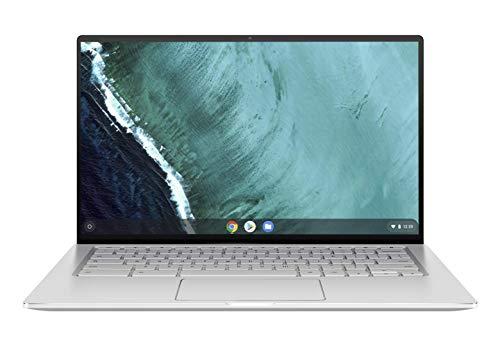 Asus Chromebook Flip 14' Argent (Intel M3, 8 Go de RAM, EMMC 64 Go) Clavier AZERTY Français