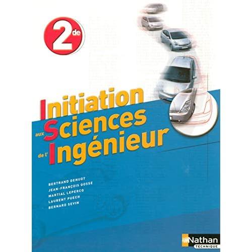 Initiation aux Sciences de l'Ingénieur 2e
