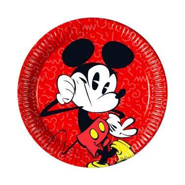 USE - SUPER COOL * von Disney für Kindergeburtstag oder Mottoparty // Kinder Geburtstag Motto Party Micky Maus Partyteller Pappteller Plates ()