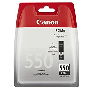Canon Pixma MG 6350 (PGI-550 PGBK / 6496 B 004) - original - Inkcartridge black - 300 Pages - 15ml