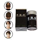 Fro Magic Wachstumsfasern gegen dünnes Haar für volles, dickes Haar (Mittel Braun)