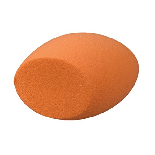 Susenstone En Forme d'oeuf Douce Beauté Maquillage Puff, Orange