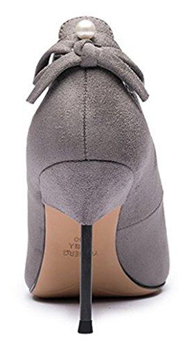 Lady hauts talons à l'automne/Creux des chaussures à talons hauts talon asakuchi pointé perles C