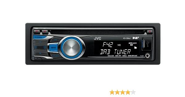 Jvc Kd Db42ec1 Autoradio Mit Dual Aux Dab Tuner Cd Player