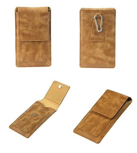 J Cover A15 F Nillofer Series Leather Pouch Holster Case For Nokia Asha 210 Tan  available at amazon for Rs.990
