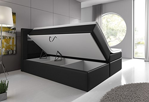 boxspringbett 180x200 mit bettkasten g nstig und vergleiche waren gestern top 25 listen 2018. Black Bedroom Furniture Sets. Home Design Ideas