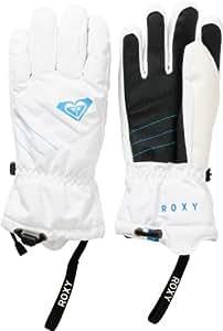 Roxy Women's Pine Snow Gloves - White, X-Large