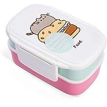 Thumbs Up Fiambrera Pusheen-Lunch Box Set-2 recipientes + Tenedor y Cuchara,