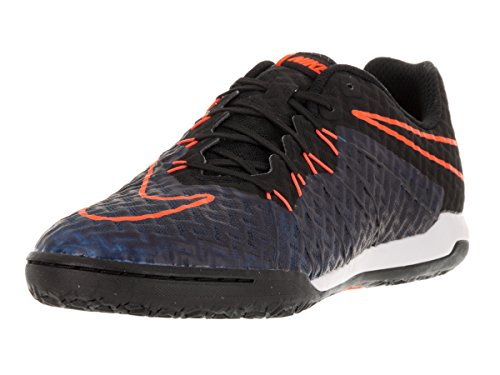 Nike Hypervenomx Finale Ic, Scarpe da Calcio Uomo Nero (Negro (Negro (Black/Black-Ttl Orange-Rcr Bl)))
