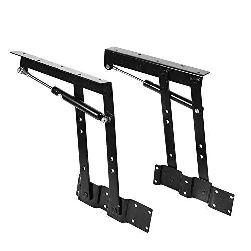 Scharnier Rack (1 Paar Gas Hydraulische Faltbar Heben Klappbeine Couchtisch Hebegestell Schreibtisch Mechanismus Fitting Scharnier Rahmen Rack Scharnier Rack Halterung)