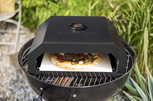 La Hacienda Firebox, BBQ Pizza Oven, Black