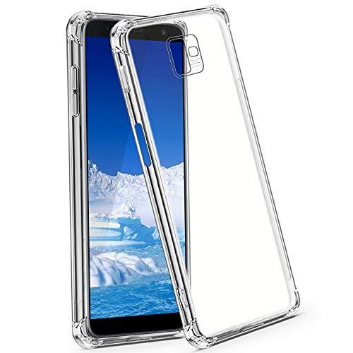 CLM-Tech Funda Compatible Samsung Galaxy J6 Plus