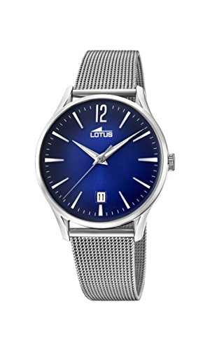 Lotus Watches Mens Analogue Classic Quartz Watch with Stainless Steel Strap 18405/3
