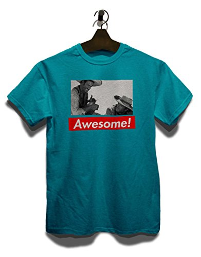 Awesome 82 T-Shirt Türkis