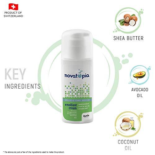 Novatopia Emollient Eczema Calming (All Skin Types) Moisturizing Cream for Children & Adults 150ML