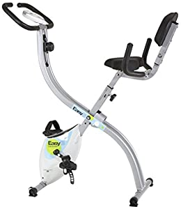 Tecnovita by BH Easy B YFAX91. Flywheel eqquivalent to 22 lbs. No more excuses to get in shape! Foldable exercise bike. Folds easily. Ergonomic seat. White by EXERCYCLE