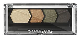 Maybelline Eyeshadow Silk Glam Quad - 22 Bronze Drama
