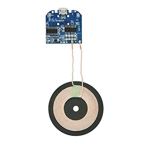 Gikfun Qi Wireless Charger PCBA Circuit Board Coil Wireless Charging Micro USB Port DIY EK1854U -
