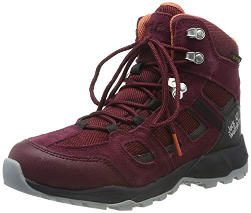 Jack Wolfskin Damen Vojo Hike XT Texapore MID W Wasserdicht Trekking- & Wanderstiefel, Rot (Burgundy/Phantom 2814), 40 EU