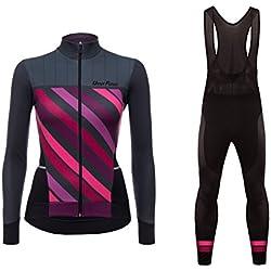 Uglyfrog 2019-2020 Nouveau Veste Maillots à Manches Courte + Bib Pantalons de Cyclisme Combinaisons Femme FRTZRN01