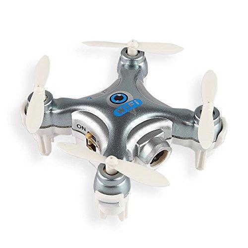 Preisvergleich Produktbild Cheerson CX-10W 4CH 6-Axis Nano RC Quadcopter2.4GHz iOS / Android APP Wifi Fernbedienung C, Drone Mit WiFi FPV 0.3MP HD Kamera Video Silber