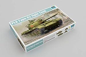 Trumpeter 05537-Maqueta de PLA Type 62Light Tank, Gris
