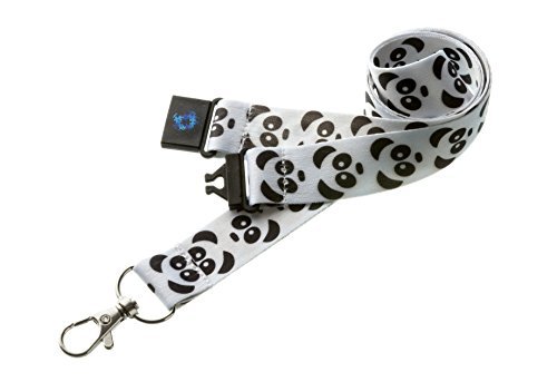 Schlüsselband mit Sicherheitsclip-Panda ()