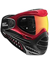 Dye Axis Masque pour Paintball Mixte Adulte, Rouge