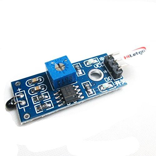Hiletgo Capteur thermique module de capteur de température module de capteur de Thermistance