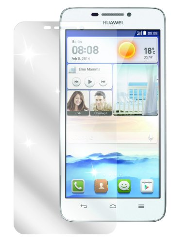 Ecultor I 6x Schutzfolie klar passend für Huawei Ascend G630 Folie Bildschirmschutzfolie