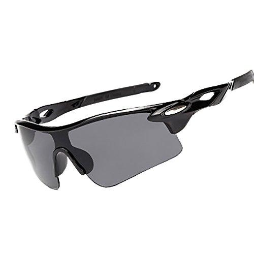 Lubier Sonnenbrille Polarisierte Sonnenbrille Running Cool Damen und Herren Riding Brillen Outdoor Sport für Bike