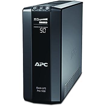 APC BY SCHNEIDER ELECTRIC APC Power-Saving Back-UPS PRO - BR900G-FR - Onduleur 900VA (AVR, 6 Prises FR, USB, Logiciel d'arrêt)