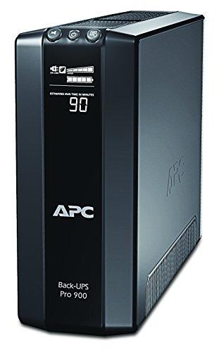 APC Power-Saving Back-UPS PRO - BR900G-FR - Onduleur 900VA (AVR, 6 Prises FR, USB, Logiciel...