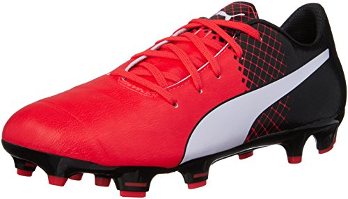 Puma-Kids-Boys-evoPOWER-1-3-FG-Jr-Soccer-Little-KidBig-Kid-Red-BlastPuma-WhitePuma-Black-Sneaker-4-Big-Kid-M