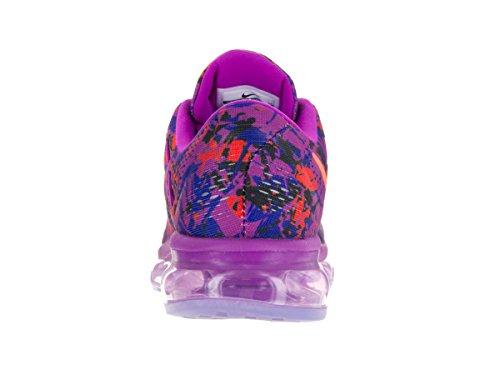 Nike Donna WMNS  Air Max 2016 Print Scarpe Running Blu (Azul (Hypr Vlt / Ttl Crmsn-Cncrd-Blk))