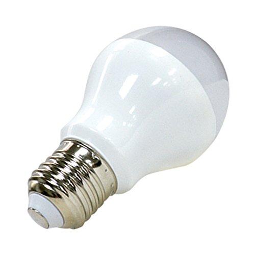 vision-el 77427Leuchtmittel LED Bulb 12W 6000° K, PVC + Aluminium + Zamak, E27, 12W, satiniert