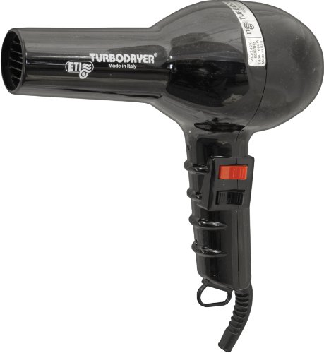 ETI Turbodryer 2000 Salon Professional Hair Dryer Black - 41mBxteWYgL - ETI Turbodryer 2000 Salon Professional Hair Dryer Black