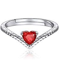 Amazon Co Uk Birthstones January Jewellery