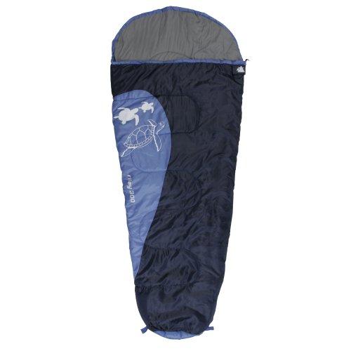 10T Outdoor Equipment Riley 300 Saco de dormir de la momia de los niños, Azul, Estándar