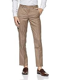 John Players Men's Slim Fit Formal Trousers