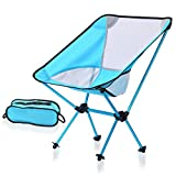 GHHJ Campingstuhl Tragbarer Tragbarer Stuhl Faltendes Gewicht 150kg Kompakt, Outdoor-Grill Strandrucksack Angeln